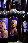 Los Angeles, April 7 2012 - In his house, Greg Schreiner's collection of items related to Marilyn Monroe.