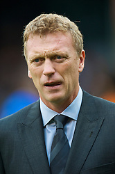 LONDON, ENGLAND - Sunday, September 13, 2009: Everton's manager David Moyes during the Premiership match against Fulham at Craven Cottage. (Photo by David Rawcliffe/Propaganda)