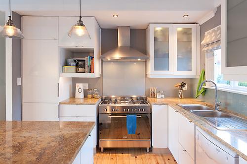 Kitchen interior Hout Bay Cape Town South Africa  Jason Buch
