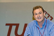 Kevin Courtney, NUT, speaking at the TUC, Brighton 2007...© Martin Jenkinson, tel 0114 258 6808 mobile 07831 189363 email martin@pressphotos.co.uk. Copyright Designs & Patents Act 1988, moral rights asserted credit required. No part of this photo to be stored, reproduced, manipulated or transmitted to third parties by any means without prior written permission
