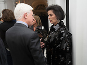 BIANCA JAGGER, Opening of Galerie Thaddaeus Ropac London, Ely House, 37 Dover Street.. Mayfair. London. 26 April 2017.