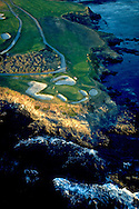 Pebble Beach Golf Links, Pebble Beach Californnia, Aerial