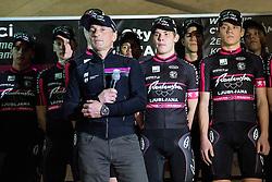Mark Polanec during press conference of Professional Men Cycling Team KK Radenska Ljubljana, on February 24, 2015 in Ljubljana, Slovenia. Photo by Vid Ponikvar / Sportida