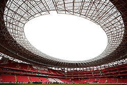 A general view before the international friendly match at the Antalya Stadium.