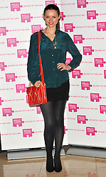 Sophie Ellis Bextor attends the launch party for Breast Cancer Campaign at Tower 42, London, England, October 1, 2012. Photo by Chris Joseph / i-Images.