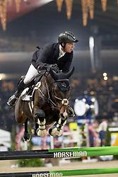 Greve Willem, NED, Faro<br /> Jumping Mechelen 2018<br /> © Hippo Foto - Sharon Vandeput<br /> 29/12/18