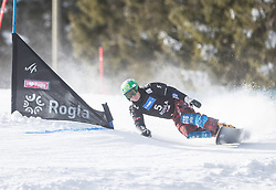 Marguc Rok during the FIS snowboarding world cup race in Rogla (SI / SLO) | GS on January 20, 2018, in Jasna Ski slope, Rogla, Slovenia. Photo by Urban Meglic / Sportida