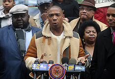 Ja Rule Joins NYCHA Residents At Rally - 20 Feb 2018