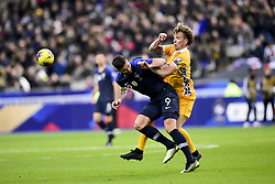 November 14, 2019, Paris, France, France: Olivier Giroud (Fra) vs Eugeniu Cociuc  (Credit Image: © Panoramic via ZUMA Press)