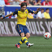 Tomas Rosicky, Arsenal, in action during the New York Red Bulls Vs Arsenal FC,  friendly football match for the New York Cup at Red Bull Arena, Harrison, New Jersey. USA. 26h July 2014. Photo Tim Clayton