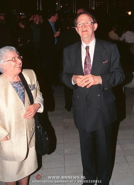 Gala van het Nederlandse lied, Harry Banink en vrouw