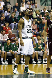 16 December 2006: Darius Gant. The University of Chicago Maroons upset  the Illinois Wesleyan Titans 64 - 60 at the Shirk Center in Bloomington Illinois.<br />