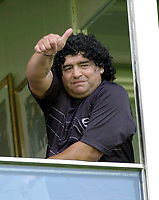 18/04/04 - DIEGO MARADONA WAS INTERNED AT HOSPITAL - Buenos Aires - Argentina. <br />