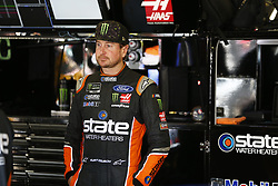 November 3, 2018 - Ft. Worth, Texas, United States of America - Kurt Busch (41) hangs out in the garage during practice for the AAA Texas 500 at Texas Motor Speedway in Ft. Worth, Texas. (Credit Image: © Justin R. Noe Asp Inc/ASP via ZUMA Wire)
