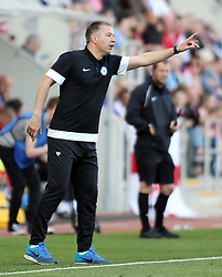 Peterborough United Manager, Darren Ferguson  - Photo mandatory by-line: Joe Dent/JMP - Tel: Mobile: 07966 386802 28/09/2013 - SPORT - FOOTBALL - New York Stadium - Rotherham - Rotherham United V Peterborough United - Sky Bet One