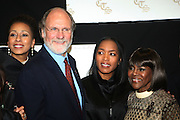 l to r: Tamara Tunie, Governor Corzine, Angela Bassett Cicely L. Tyson at The Official unveiling of the new state of the art Cicely L. Tyson Community School of Performing and Fine Arts on October 24, 2009 in East Orange, New Jersey