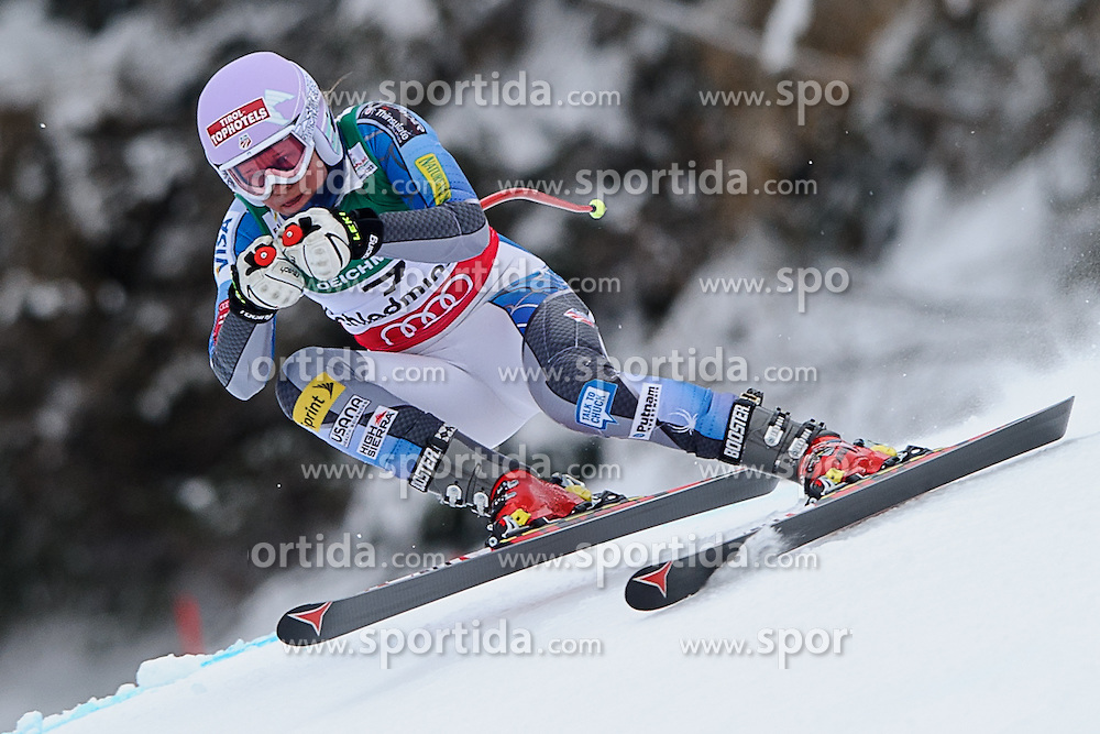 06.02.2013, Planai, Schladming, AUT, FIS Weltmeisterschaften Ski Alpin, Abfahrt, Damen, 1. Training, im Bild Alice Mckennis (USA) // Alice Mckennis of United States in action during 1st practice of Ladies Downhill at the FIS Ski World Championships 2013 at the Planai Course, Schladming, Austria on 2013/02/06. EXPA Pictures © 2013, PhotoCredit: EXPA/ Sandro Zangrando