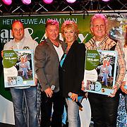 NLD/Volendam/20100908 - CD presentatie Jan Keizer en Annie Schilder, Jaap Buijs, Menno Muis, Jan en Annie, Emile Hartkamp en Norus Padidar