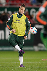 21.01.2012, Petzenberg, Kaiserslautern, GER, 1. FBL, 1.FC Kaiserslautern vs Werder Bremen., 18. Spieltag, im Bild .Marko ARNAUTOVIC (SV Werder Bremen, #7), EXPA Pictures © 2012, PhotoCredit: EXPA/ Eibner-Pressefoto / Schmit ***** ATTENTION OUT OF GERMANY *****