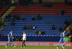 Empty seats during play at the Macron Stadium - Mandatory byline: Matt McNulty/JMP - 19/01/2016 - FOOTBALL - Macron Stadium - Bolton, England - Bolton Wanderers v Eastleigh - FA Cup Third Round