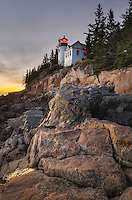 Bass Harbor Head Lighthouse, Acadia National Park, Maine