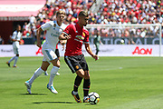 Andreas Pereira during the AON Tour 2017 match between Real Madrid and Manchester United at the Levi's Stadium, Santa Clara, USA on 23 July 2017.