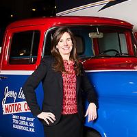 On location executive portrait of Sherri Howes