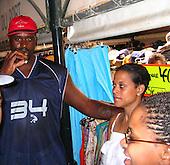 Shaquille & Shaunie O'Neal 07/25/2004