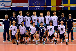 02-10-2013 VOLLEYBAL: WK KWALIFICATIE MANNEN NEDERLAND - ISRAEL: ALMERE<br /> Teamfoto Israel<br /> ©2013-FotoHoogendoorn.nl