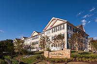 Architectural Exterior of Creekside Village Apartments in Glen Burnie Maryland by Jeffrey Sauers of Commercial Photographics, Architectural Photo Artistry in Washington DC, Virginia to Florida and PA to New England