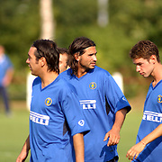 Training Inter Milan NVC terrein Naarden,
