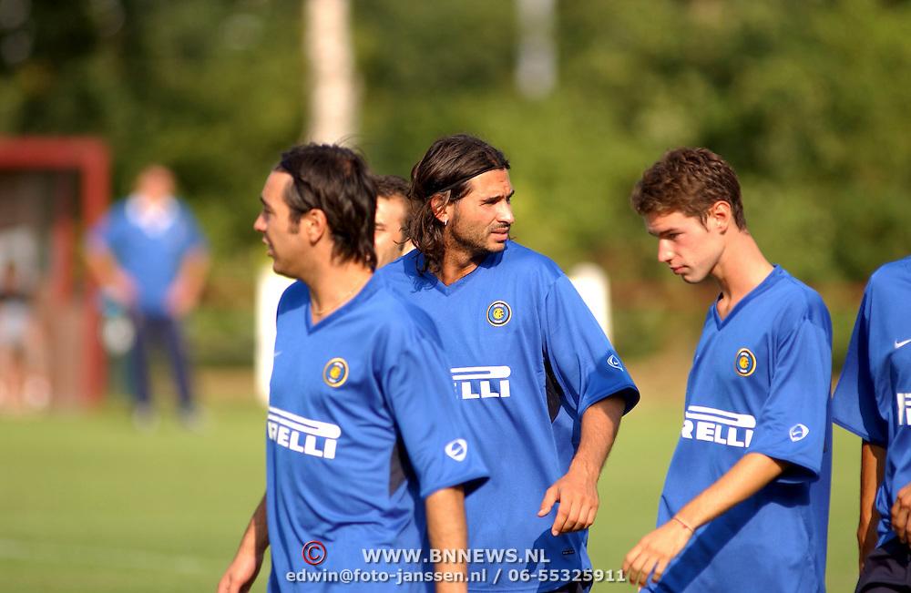 Training Inter Milan NVC terrein Naarden,