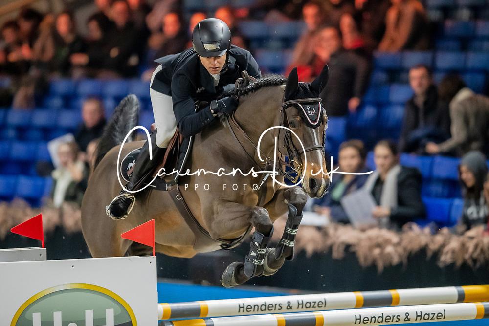 Vernaet Frederic, BEL, Dauphine van T&L<br /> Jumping Mechelen 2019<br /> © Hippo Foto - Dirk Caremans<br />  26/12/2019
