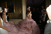 Chloe Pridham, The Moet and Chandon Fashion Tribute 2006 Honouring British Photographer Nick Knight. Strawberry Hill House. Twickenham. 24 October 2006. -DO NOT ARCHIVE-© Copyright Photograph by Dafydd Jones 66 Stockwell Park Rd. London SW9 0DA Tel 020 7733 0108 www.dafjones.com
