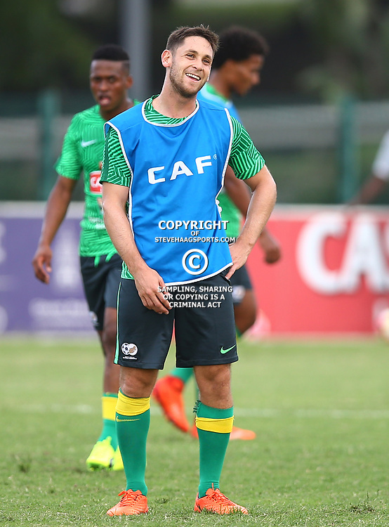 Dean Furman of (Bafana Bafana) South Africa during the Bafana Bafana Training at People's Park, Moses Mabhida Stadium in Durban,21st March 2017 (Steve Haag)