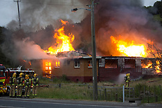 Tauranga-Papamoa Hall destroyed by fire