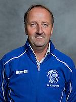 UTRECHT -   Manager Rick Volkers, Kampong Heren I,  seizoen 2012-2013. FOTO KOEN SUYK