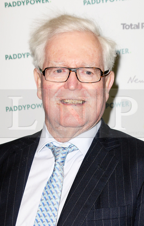 © Licensed to London News Pictures. 19/03/2014, UK. Lord Douglas Hurd, Political Book Awards, BFI IMAX, London UK, 19 March 2014. Photo credit : Richard Goldschmidt/Piqtured/LNP