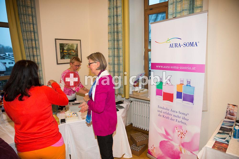 Impressions from the Aura-Soma Essentials and Essentials Instructor course in Grossgmain near Salzburg, Austria, Thursday, Nov. 26, 2015. (Photo by Patrick B. Kraemer / MAGICPBK)