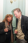 LISA APPIGNANESI; MICHAEL HOLROYD, The Love-charm of Bombs. Restless Lives in the Second World War. By Lara Feigel - book launch party. Bloomsbury Publishing, 50 Bedford Square, London, WC1, 17 JANUARY 2012.