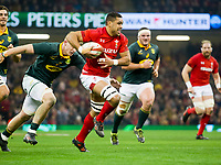 Rugby Union - 2017 Under Armour Series (Autumn Internationals) - Wales vs. South Africa<br /> <br /> Taulupe Faletau of Wales attacks, at The Principality Stadium (Millennium Stadium), Cardiff.<br /> <br /> COLORSPORT/WINSTON BYNORTH