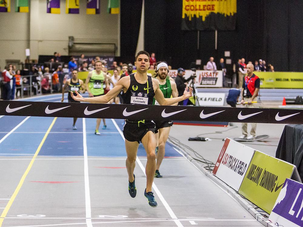 USATF Indoor Track & Field Championships: Men's Mile, Matthew Centrowitz, Nike Oregon Project