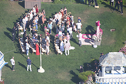 AU_1332010 - Malibu, CA  -  *EXCLUSIVE*  Denise Richard's wedding to Aaron Phypers in Malibu<br /> <br /> Pictured: Denise Richards wedding in Malibu<br /> <br /> BACKGRID Australia 8 SEPTEMBER 2018 <br /> <br /> Phone: + 61 2 8719 0598<br /> Email:  photos@backgrid.com.au
