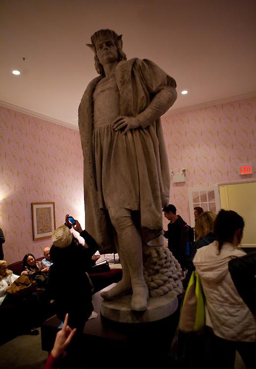 The Public Art Fund's Tazu Nishi Discovering Columbus, Columbus Circle, New York City