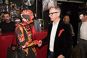 ESTELLE RIVIERE MONSTERLUNE, DAVID JENKINS, Steve Diet's Extempore Circa book launch and showing of the nina doroushi collection, resistance gallery, 265 poyser st. london e2 9RF