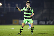 Forest Green Rovers Jay Malshanskyj(7) during the The FA Youth Cup match between Bristol Rovers and Forest Green Rovers at the Memorial Stadium, Bristol, England on 2 November 2017. Photo by Shane Healey.