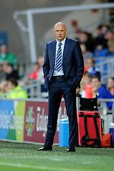 Wigan Athletic Manager, Uwe Rosler - Photo mandatory by-line: Dougie Allward/JMP - Mobile: 07966 386802 19/08/2014 - SPORT - FOOTBALL - Cardiff - Cardiff City Stadium - Cardiff City v Wigan Athletic - Sky Bet Championship