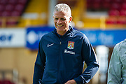 Northampton Town Manager Keith Curle before the EFL Sky Bet League 2 match between Bradford City and Northampton Town at the Utilita Energy Stadium, Bradford, England on 7 September 2019.