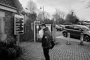 Man vaping, Battle Station,  East Sussex, . 3 February 2016