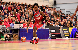 Lovell Cook of Bristol Flyers  - Photo mandatory by-line: Joe Meredith/JMP - 18/11/2016 - BASKETBALL - SGS Wise Arena - Bristol, England - Bristol Flyers v Surrey Scorchers - British Basketball League
